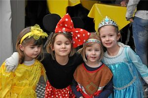 So bunt war der Kinderkarneval